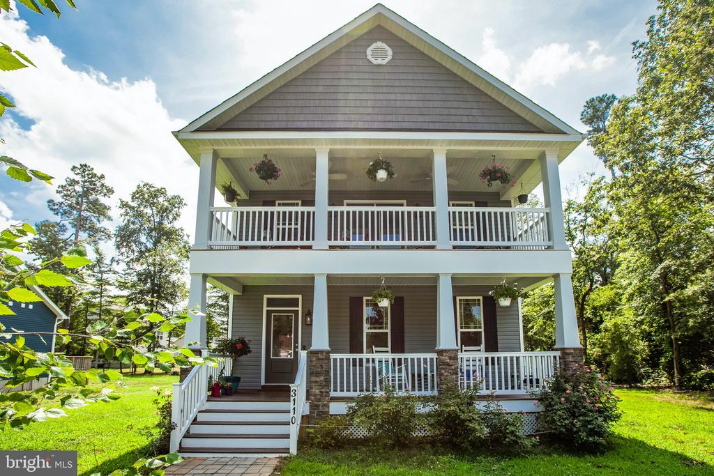 Welcome home to 3110 Riverview Drive! - 3110 RIVERVIEW DR, COLONIAL BEACH