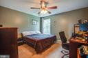 Bedroom 3 serves as home office, too - 3110 RIVERVIEW DR, COLONIAL BEACH