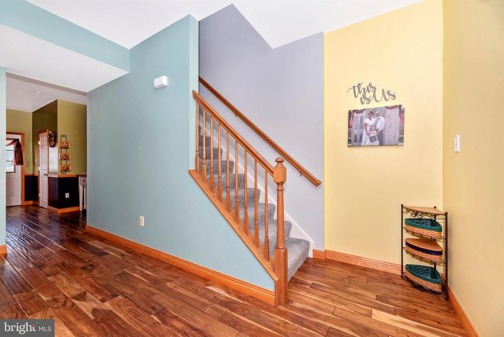 Main Level Staircase - 2022 MALVERN WAY, FREDERICK