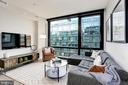 Living Room - 1300 4TH ST SE #802, WASHINGTON