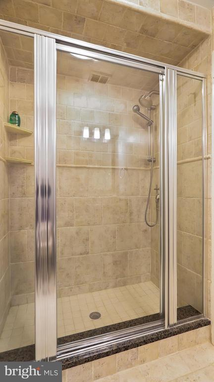 Bedroom 2& 3 bath shower - 10717 MEADOWOOD DR, VIENNA
