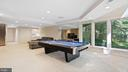 Billiard room to rec room - 10717 MEADOWOOD DR, VIENNA