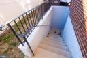 basement side entrance - 2516 1ST RD S, ARLINGTON
