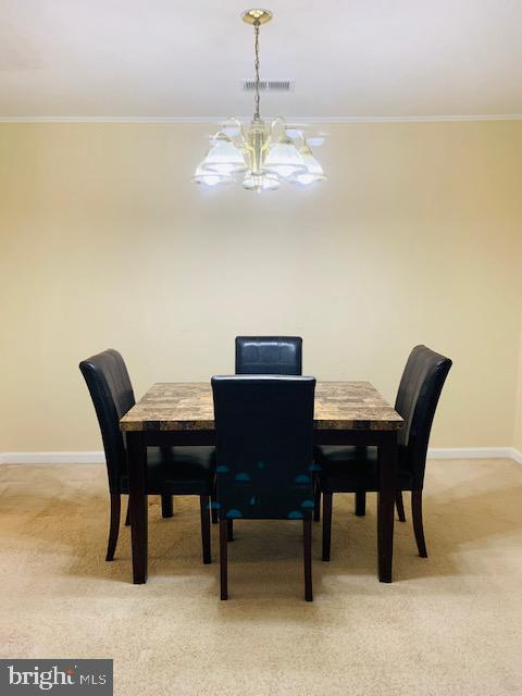 Dinning Room - 4620 CONWELL DR #146, ANNANDALE