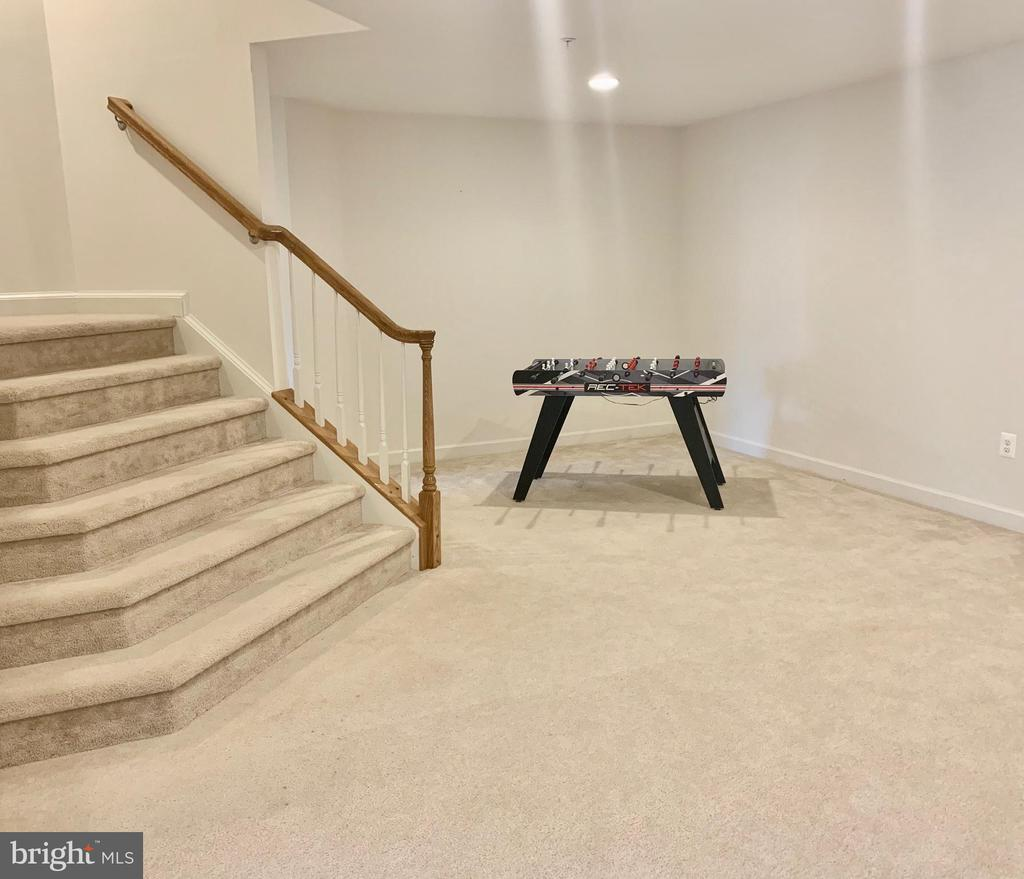 Finished basement with plenty of space! - 9509 TOTTENHAM CIR, FREDERICK