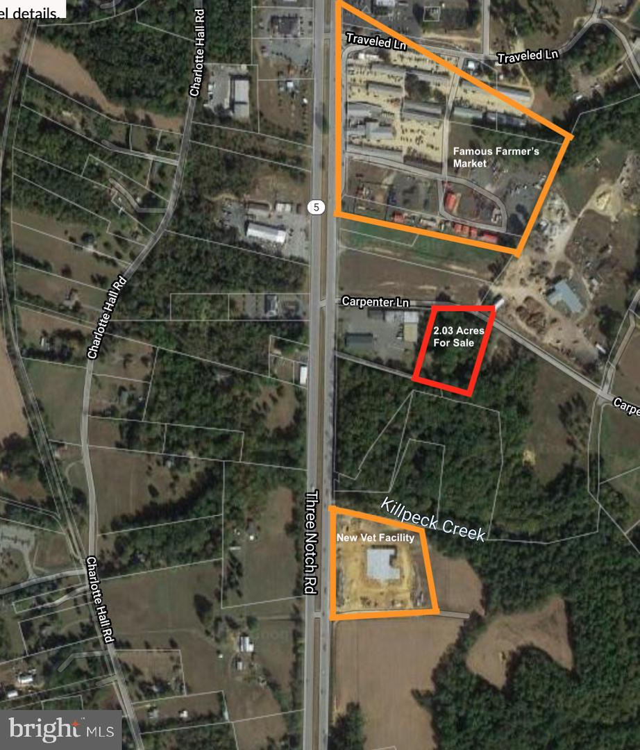 Land for Sale at Charlotte Hall, Maryland 20622 United States
