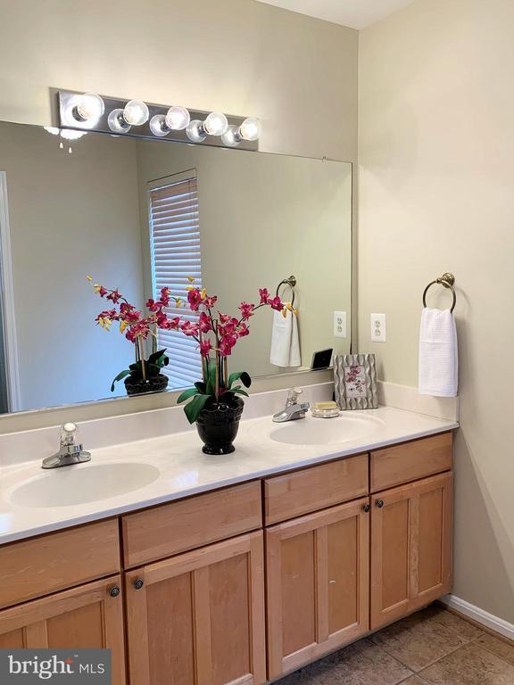 Master bathroom - 43193 CARDSTON PL, LEESBURG