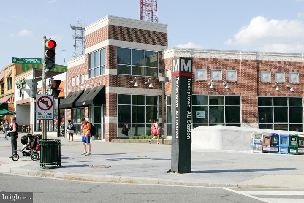 Tenleytown Metro , Target, public library close! - 4401 GARRISON ST NW, WASHINGTON