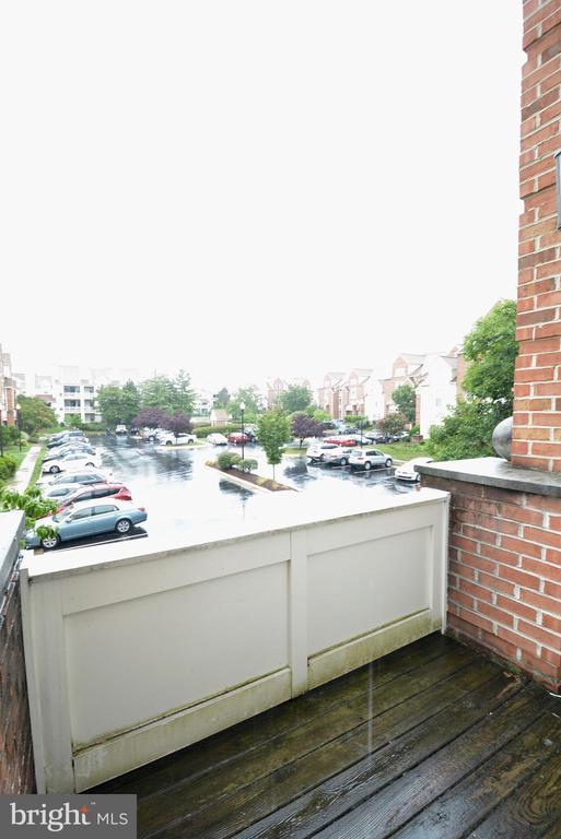 View of seconc balcony - 7004 ELLINGHAM CIR #45, ALEXANDRIA