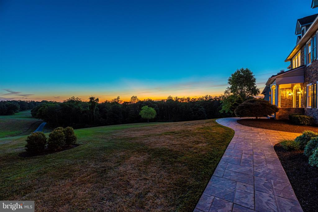 Sunset view - 12788 BARNETT DR, MOUNT AIRY