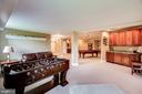 Large finished area - 12788 BARNETT DR, MOUNT AIRY