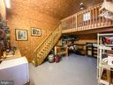 Heated interior with loft - 12788 BARNETT DR, MOUNT AIRY