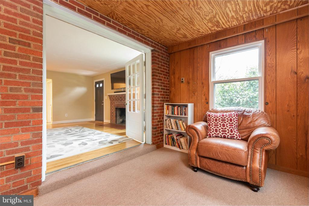 Piano Friendly Addition w View to Living Room - 9115 FLOWER AVE, SILVER SPRING