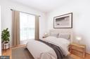 Study/bedroom with virtual staging - 6033 SUMNER RD, ALEXANDRIA
