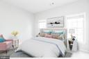 Right front bedroom with virtual staging - 6033 SUMNER RD, ALEXANDRIA