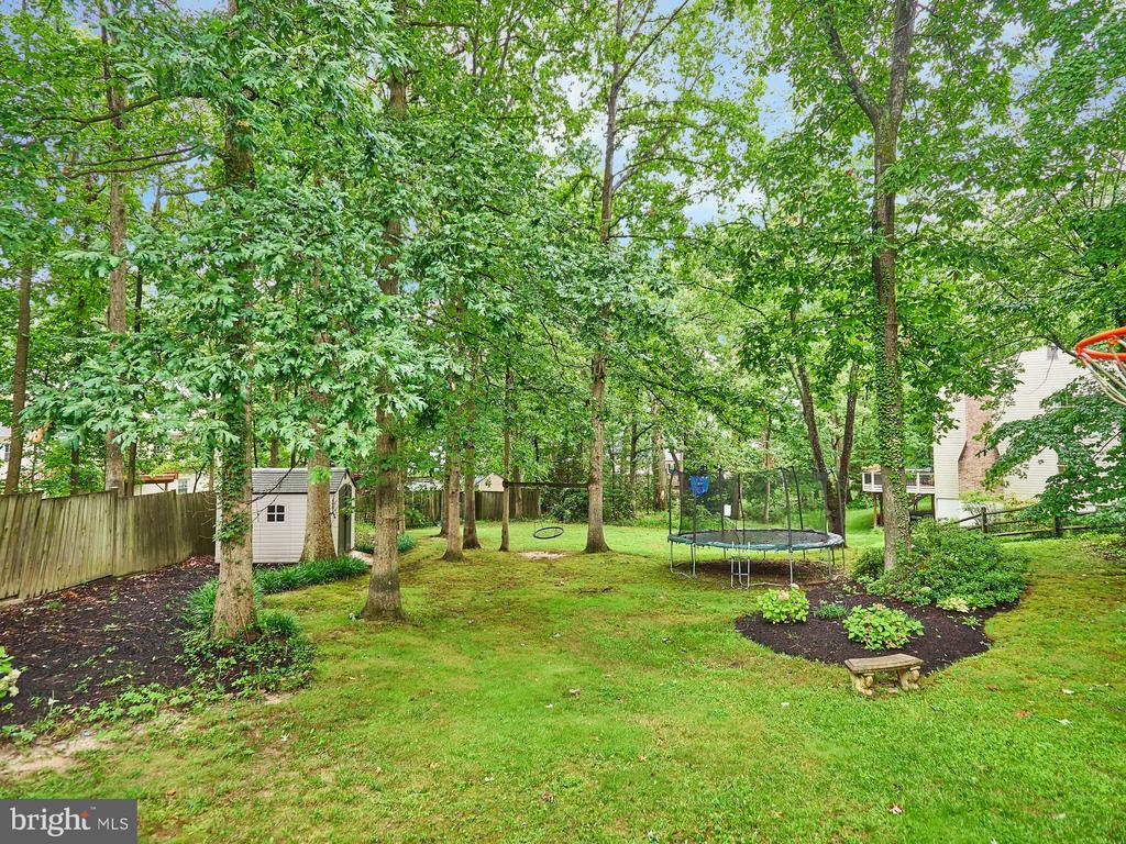 Extra Large back yard, ready for fun, no HOA! - 3710 KRYSIA CT, ANNANDALE
