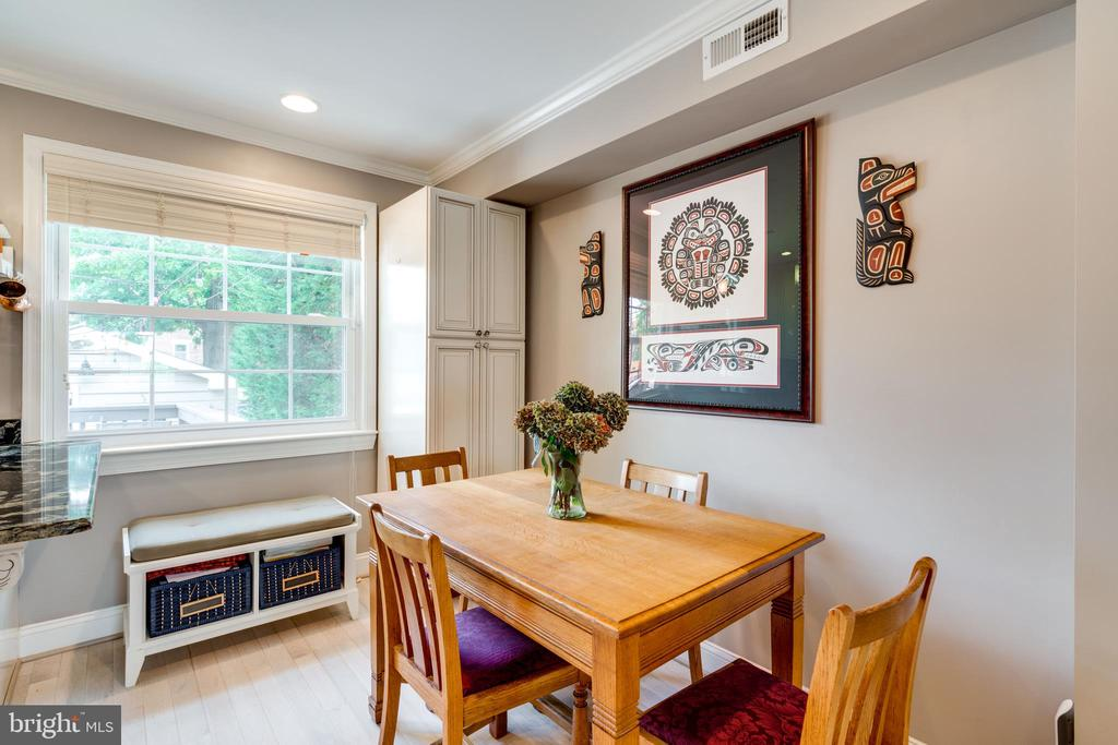 Dining area - 224 WESMOND DR, ALEXANDRIA
