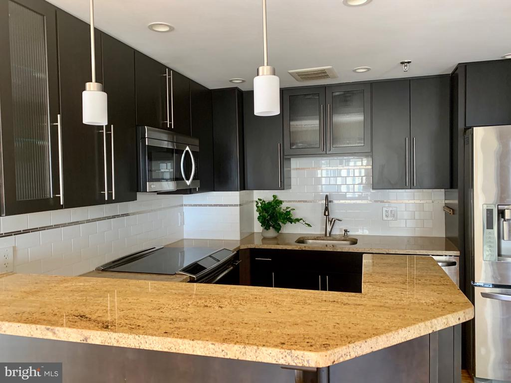 Renovated Kitchen - 24 COURTHOUSE SQ #810, ROCKVILLE