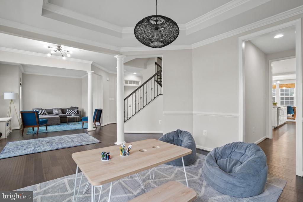 Dining Room, Living Room - 4509 MONROVIA BLVD, MONROVIA