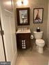 1/2 bath next to kitchen - 1700-D CLARENDON BLVD #141, ARLINGTON