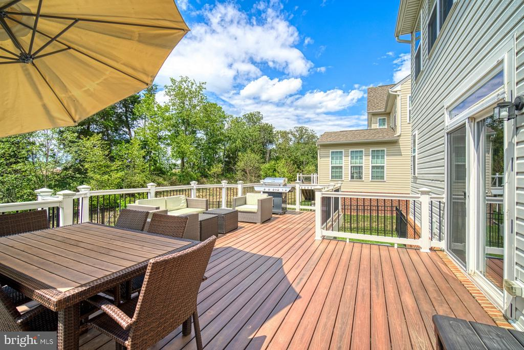 Fiberon Low Maintenance Large Deck - 42105 AUTUMN RAIN CIR, BRAMBLETON