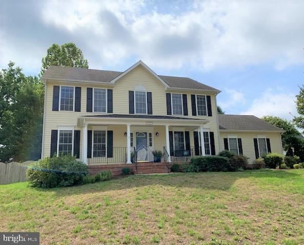 Colonial with front porch - 10809 STACY RUN, FREDERICKSBURG