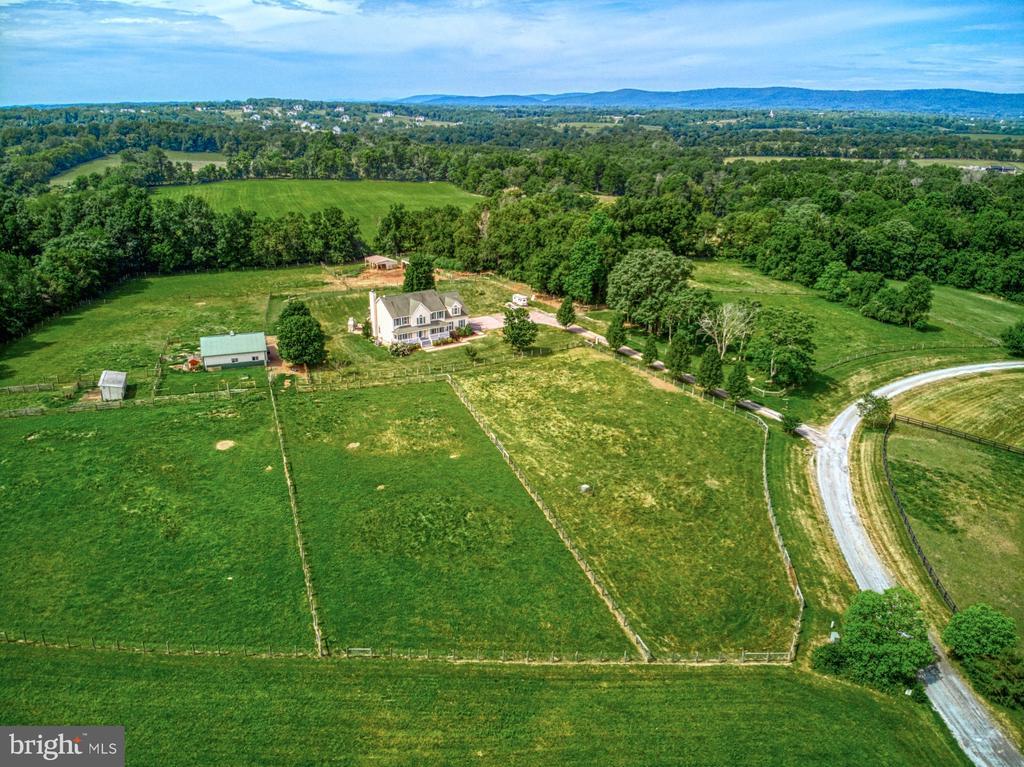 7 Fenced Paddocks of Open Pasture - 40205 QUAILRUN CT, LOVETTSVILLE