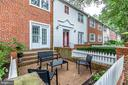 This lower-level unit comes with a private patio - 2515-A S WALTER REED DR #A, ARLINGTON