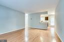 Bright and air living/dining combination - 2515-A S WALTER REED DR #A, ARLINGTON