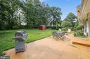 Large backyard - 6215 THOMAS DR, SPRINGFIELD