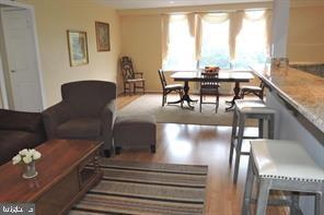 family room - dining area - 9701 FIELDS RD #405, GAITHERSBURG