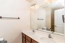 Dual Vanities in Master Bedroom #1 - 15405 ROSEMONT MANOR DR, HAYMARKET