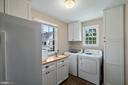 Cottage Kitchen:Refirg.w/icemaker,Wash./Dry - 19200 ORCHARD MANOR LN, LEESBURG