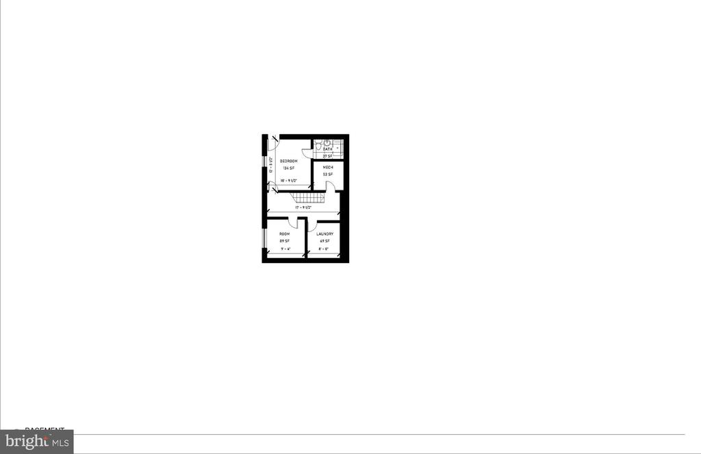Lower Level Floor Plan - 2700 FOXHALL RD NW, WASHINGTON