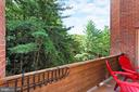 Private, Tree-Top Balcony - 3729-A MADISON LN, FALLS CHURCH