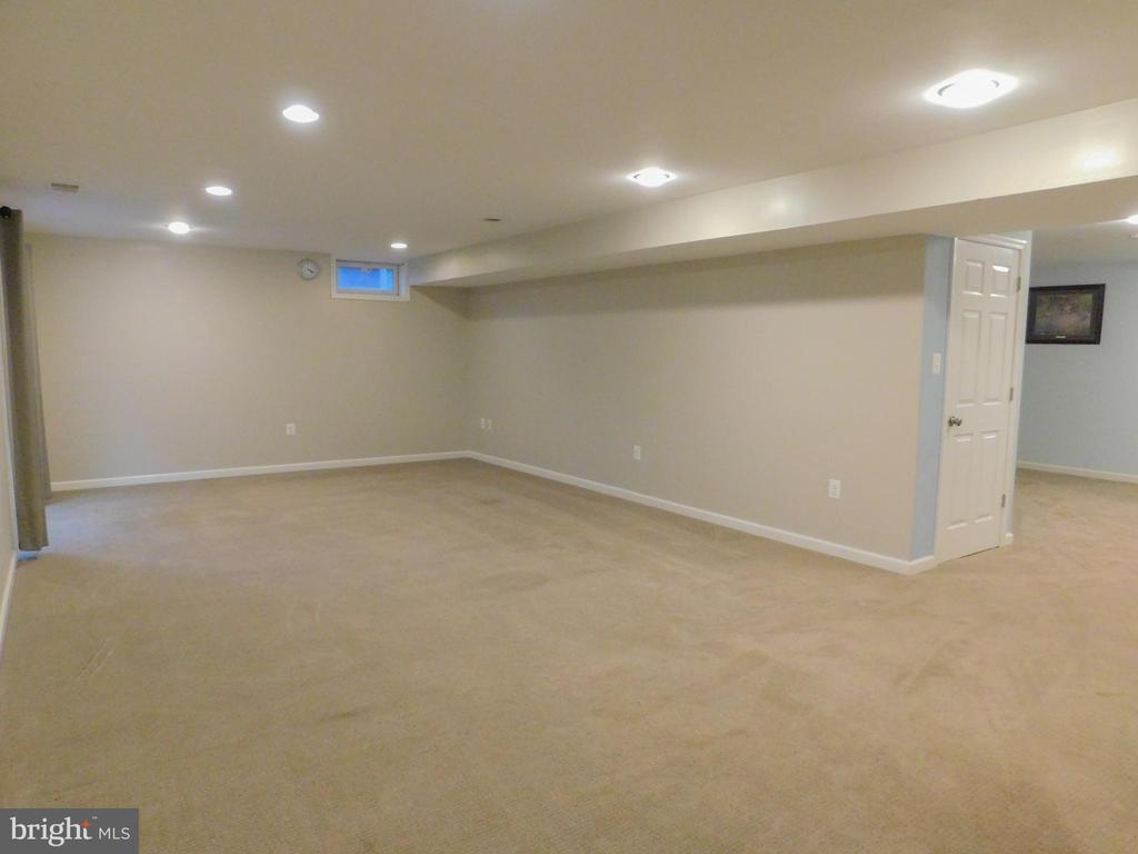 Downstairs Rec Room - 9300 EAGLE CT, MANASSAS PARK