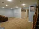 Lower level Rec Room - 9300 EAGLE CT, MANASSAS PARK