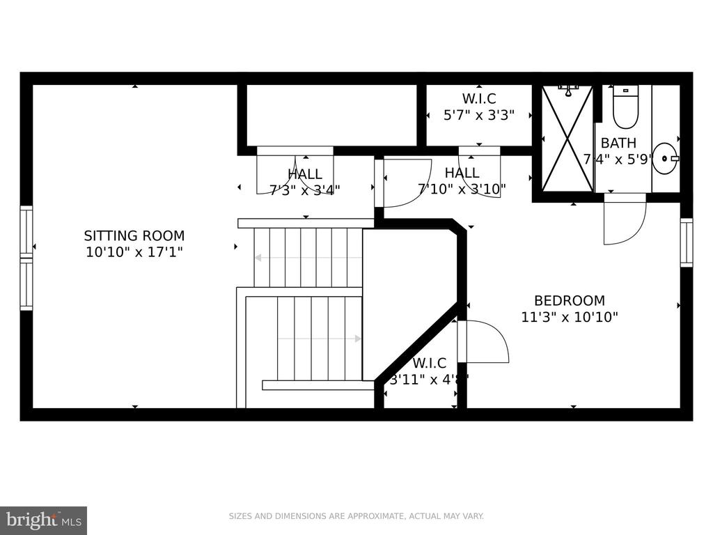 Floorplan 4th Floor Loft - 4509 MONROVIA BLVD, MONROVIA