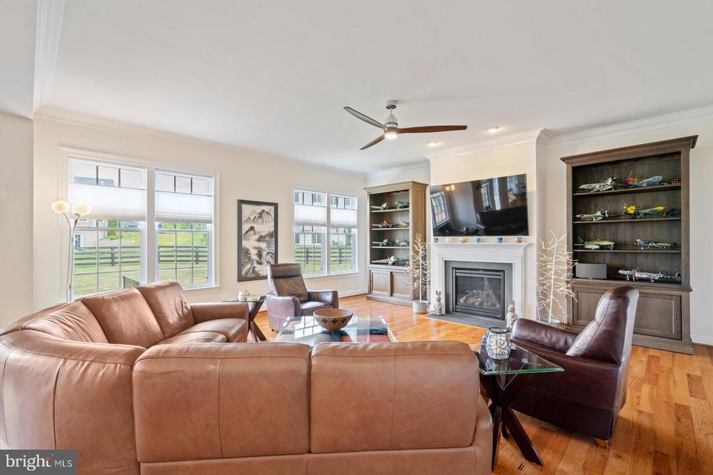 Relax  and get cozy next to your fireplace! - 41932 CLOVER VALLEY CT, ASHBURN