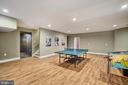 Recreation room - 41932 CLOVER VALLEY CT, ASHBURN