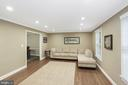 Spacious Living Room - 1958 BARTON HILL RD, RESTON