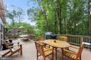 Tiered Deck perfect for entertaining - 1958 BARTON HILL RD, RESTON