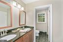 Secondary bath - 1958 BARTON HILL RD, RESTON