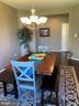 Dining Room - 15607 GREAT BRIDGE LN, CULPEPER