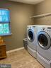 Laundry on upper level - washer & dryer convey - 15607 GREAT BRIDGE LN, CULPEPER