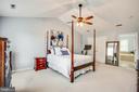 Owners suite with en suite  bathroom - 10809 STACY RUN, FREDERICKSBURG