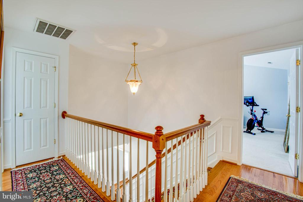 Bedroom level landing - 10809 STACY RUN, FREDERICKSBURG
