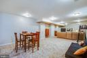 HUGE finished space in lower level - 10809 STACY RUN, FREDERICKSBURG