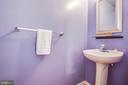 Main level 1/2 bath - 10809 STACY RUN, FREDERICKSBURG