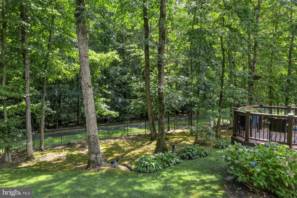 Amazing wooded lot, backs to parkland - 8119 HADDINGTON CT, FAIRFAX STATION
